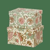 BUNGALOW - Geschenkbox Sintapur Moss - 2er Set