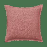 BUNGALOW - Kissenhülle – Old Rose - 100% Leinen