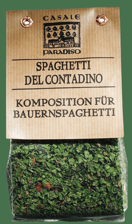 CASALE PARADISO - Spaghetti del Contadino - Komposition für Bauernspaghetti