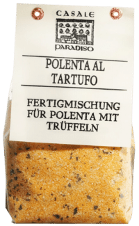 CASALE PARADISO - Polenta al tartufo - Polenta mit Trüffeln