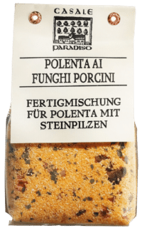CASALE PARADISO - Polenta ai funghi porcini - Polenta mit Steinpilzen