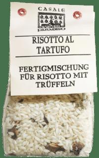 CASALE PARADISO - Risotto al tartufo - Risotto mit Trüffelstücken