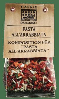 CASALE PARADISO - Pasta all'arrabbiata - Scharfe Gewürzmischung für Nudeln
