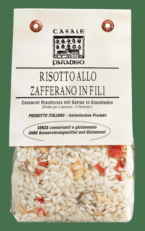 CASALE PARADISO - Risotto allo zafferano in fili - Safran Risotto
