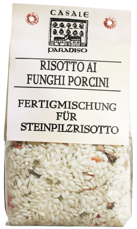 CASALE PARADISO - Risotto ai funghi porcini - Risotto mit Steinpilzen