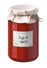 Cascina San Giovanni - Cascina San Giovanni – BIO Sugo al basilico - Tomatensauce mit Basilikum