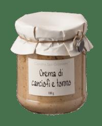 Cascina San Giovanni - Cascina San Giovanni – Patè per crostini di carciofi e tonno - Aufstrich mit Artischocken und Thunfisch