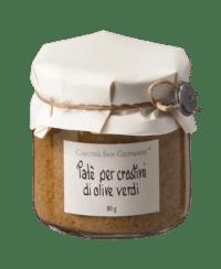 Cascina San Giovanni - Cascina San Giovanni – Patè per crostini di olive verde - Aufstrich mit grünen Oliven