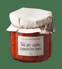Cascina San Giovanni - Cascina San Giovanni – Patè per crostini peperoncini e tonno - Aufstrich mit Chili und Thunfisch