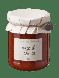 Cascina San Giovanni - Cascina San Giovanni – Sugo al balsilico - Tomatensauce mit Basilikum