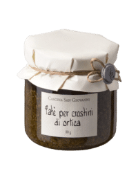 Cascina San Giovanni - Cascina San Giovanni – Crostini- Aufstrich mit Brennessel - Paté per crostini di ortica