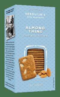 VERDUIJN'S - Butter Biscuits with Almonds - Buttergebäck mit Maneln und Butter