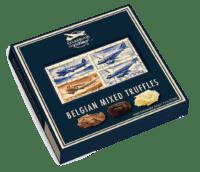 STARBROOK AIRLINES - Belgische Trüffelmischung - Auswahl von Zartbitter-, Milch-, und Praliné Schokoladentrüffel