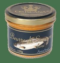 CRUSANA - Geräucherte Lachsbutter - aus Frankreich
