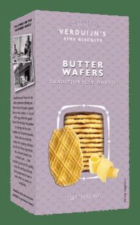 VERDUIJN'S - Butter Wafers - Butterwaffeln mit 21% Butter