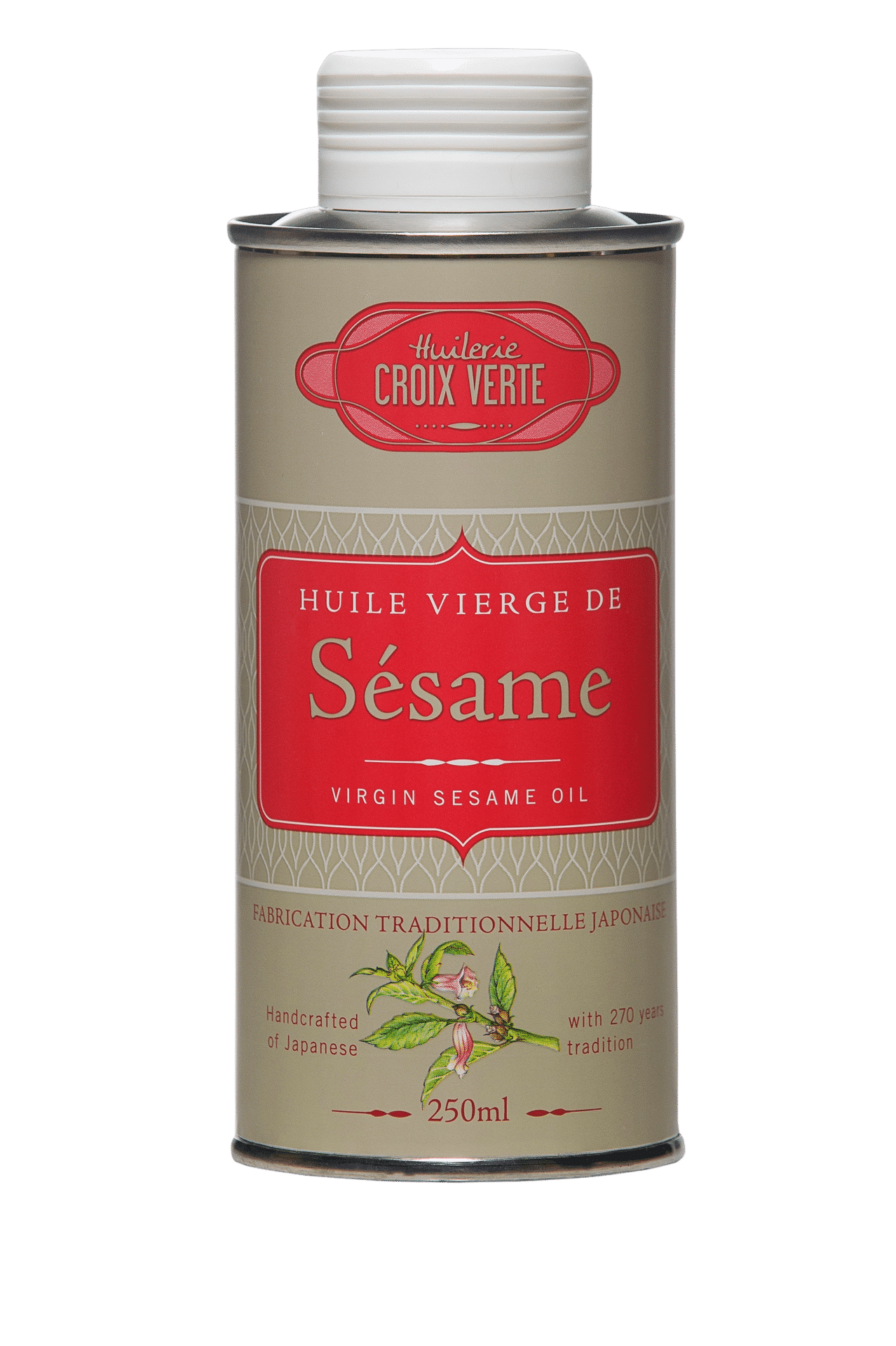 HUILERIE CROIX VERTE - Sesamöl - aus Frankreich