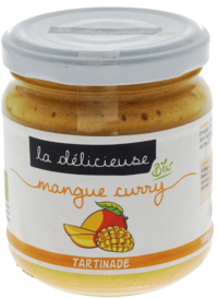 LA DÉLICIEUSE - VEGANER Brotaufstrich mit Mango & Curry - Vegane Tartinade