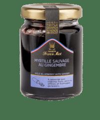 MAISON FRANCIS MIOT - Heidelbeeren & Ingwer - Confit aus Frankreich