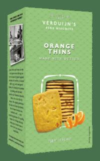 VERDUIJN'S - Butter Biscuits with Orange - Buttergebäck mit Orangenstücken