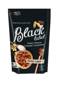 BLACK LABEL - Honey roasted Peanuts - In Honig geröstete Erdnüsse