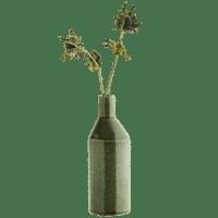 MADAM STOLTZ - Vase – Petrol