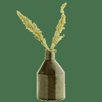MADAM STOLTZ - Vase – Dunkelgrün