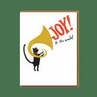 Egg Press - Tuba Cat Joy - Klappkarte mit Kuvert