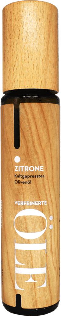 GREENOMIC - Greenomic Natives Olivenöl extra mit ZITRONE – WOOD DESIGN - kaltgepresst aus Griechenland