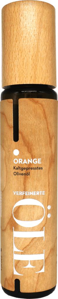 GREENOMIC - Greenomic Natives Olivenöl extra mit ORANGE – WOOD DESIGN - kaltgepresst aus Griechenland