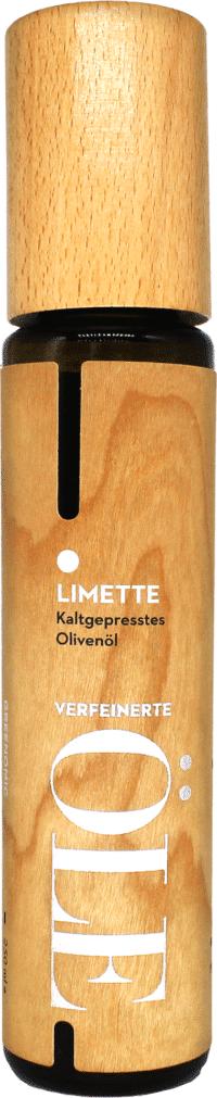 GREENOMIC - Greenomic Natives Olivenöl extra mit LIMETTE – WOOD DESIGN - kaltgepresst aus Griechenland