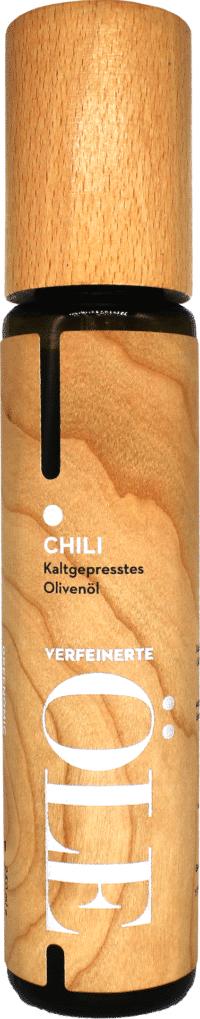 GREENOMIC - Greenomic Natives Olivenöl extra mit CHILI – WOOD DESIGN - kaltgepresst aus Griechenland