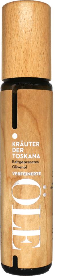 GREENOMIC - Greenomic Kaltgepresstes Olivenöl KRÄUTER DER TOSKANA – WOOD DESIGN - kaltgepresst aus Griechenland