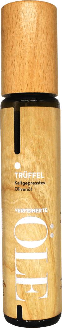 GREENOMIC - Greenomic – Natives Olivenöl extra TRÜFFEL – Wood Design - kaltgepresst aus Griechenland