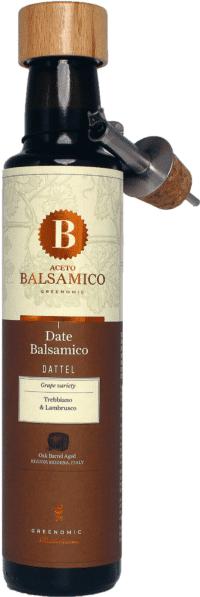 GREENOMIC - Greenomic – Aceto Balsamico mit Dattel + Ausgießer - Balsamico-Essig in Premium-Qualität aus Italien