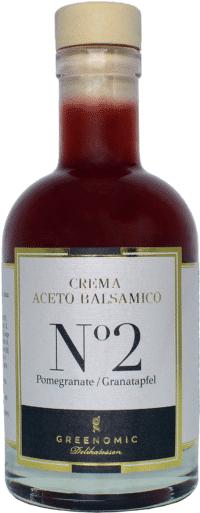 GREENOMIC - Greenomic – Crema Aceto Balsamico mit GRANATAPFEL - Premium Balsamico Creme mit Granatapfel