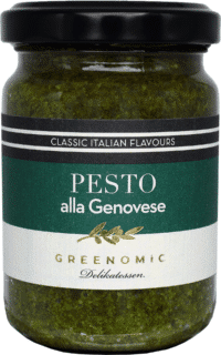 GREENOMIC - Greenomic Pesto – Alla Genovese - Basilikumpesto