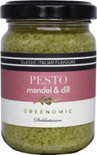 GREENOMIC - Greenomic Pesto – Mandel & Dill