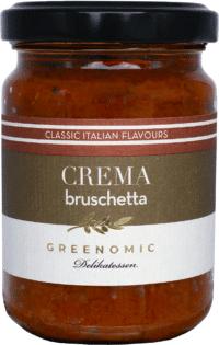 GREENOMIC - Greenomic Crema – Bruschetta - Bruschetta Brotaufstrich