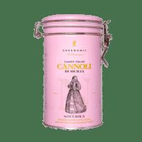 GREENOMIC - Cannoli mit zarter Nocciola-Cremefüllung – Dose - Cannoli di Sicilia  NOCCIOLA