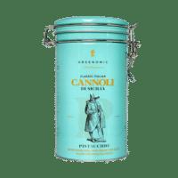 GREENOMIC - Cannoli mit zarter Pistacchio-Cremefüllung – Dose - Cannoli di Sicilia  PISTACCHIO