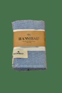 HANNIBALs - HANNIBALs Geschirrtuch – Blau/Weiß - 100% Baumwolle