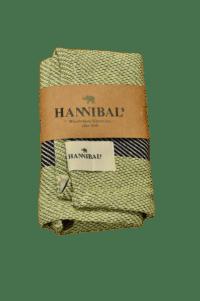 HANNIBALs - HANNIBALs Geschirrtuch – Raute Grün/Schwarz - 100% Baumwolle