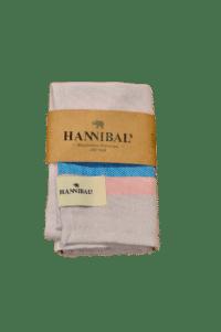 HANNIBALs - HANNIBALs Geschirrtuch – Flieder/Blau - 100% Baumwolle