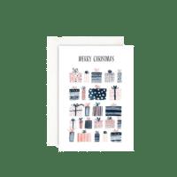 LEO LA DOUCE - Oh so many christmas gifts - Grußkarte mit Kuvert