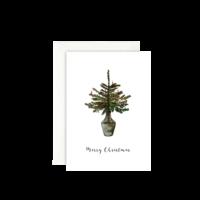 LEO LA DOUCE - Merry Christmas - Grußkarte mit Kuvert