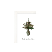 LEO LA DOUCE - Frohe Weihnachten - Grußkarte mit Kuvert