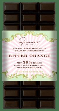 Gmeiner - Gmeiner Schokolade – Bitter Orange - mit 59% Kakao
