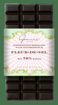 Gmeiner - Gmeiner Schokolade – Fleur-de-Sel - mit 70% Kakao
