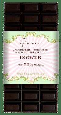 Gmeiner - Gmeiner Schokolade – Ingwer - mit 70% Kakao
