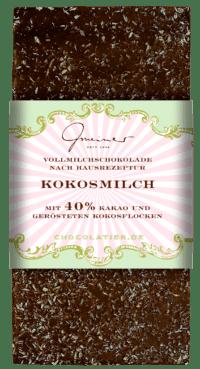 Gmeiner - Gmeiner Schokolade – Kokosmilch - mit 40% Kakao
